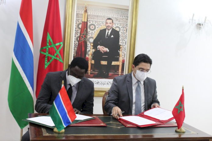 Gambia And Morocco Ink Cooperation Agreements In Health And Diplomatic Training