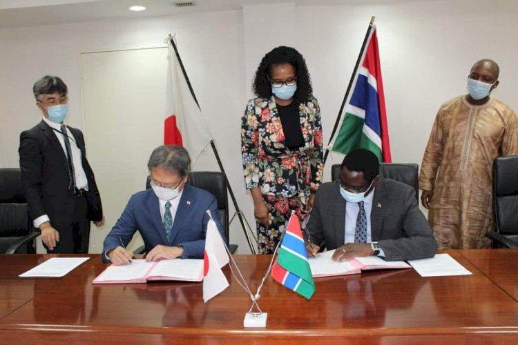 Gambia;Foreign Minister Tangara secures 125 million dalasi Japanese food assistance for Gambia