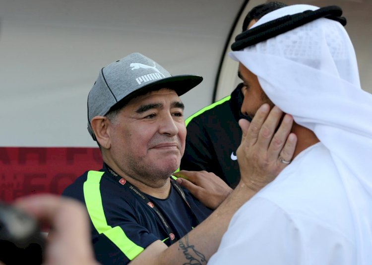 In my heart, I am Palestinian': How Maradona is mourned in the Middle East