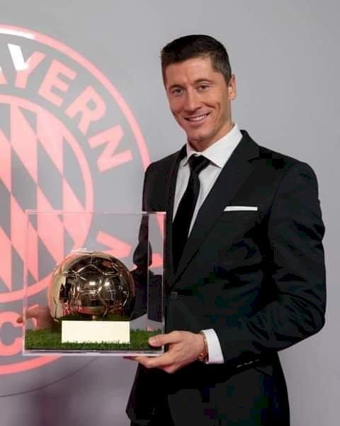 BREAKING: Lewandowski Beats Ronaldo, Messi To Win FIFA Best Player Award