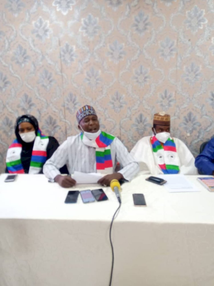 It was A Plan Agenda To Destroy The Good Relationship We've in the Northern Part of Nigeria,  Fulani Youths Hold National Press Conference in Kaduna State .