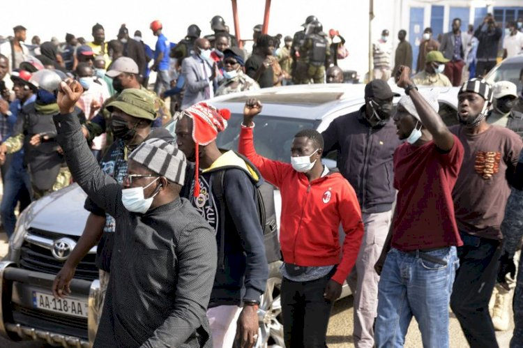 Ousmane Sonko Arrested