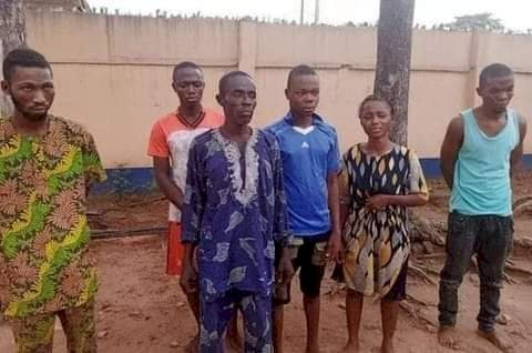 Notorious Family Of 7 Who Specializes In Kidnapping Victims for Ransom Arrested in Ogun