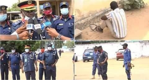 NSCDC Arrests Notorious Kidnapper In Taraba