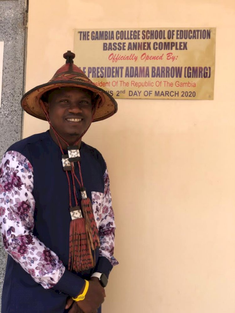 Ahmed Barry National organizer Tabital International Ghana chapter on International Tour to meet with Leadership of various fulani groups and associations