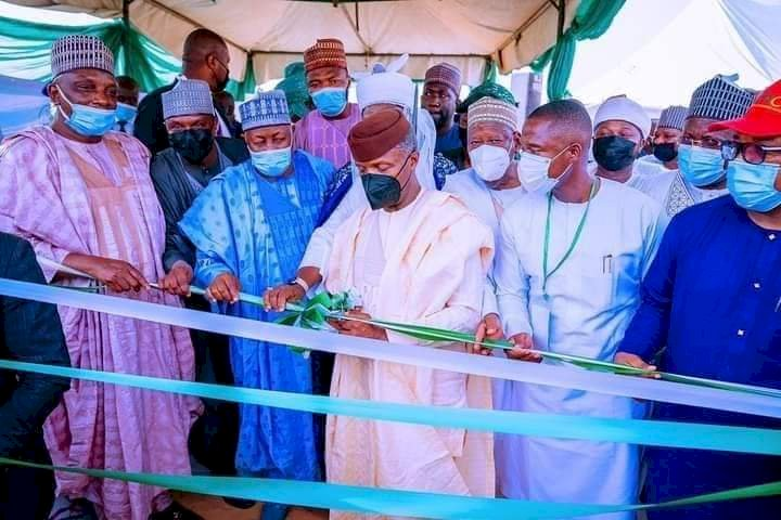 Osinbajo Launches Solar Power In Jigawa, Says It's Time To Provide More Electricity