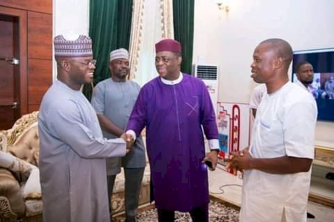 Fani-Kayode Meets Yahaya Bello, Says Nigerians Will Smile Again