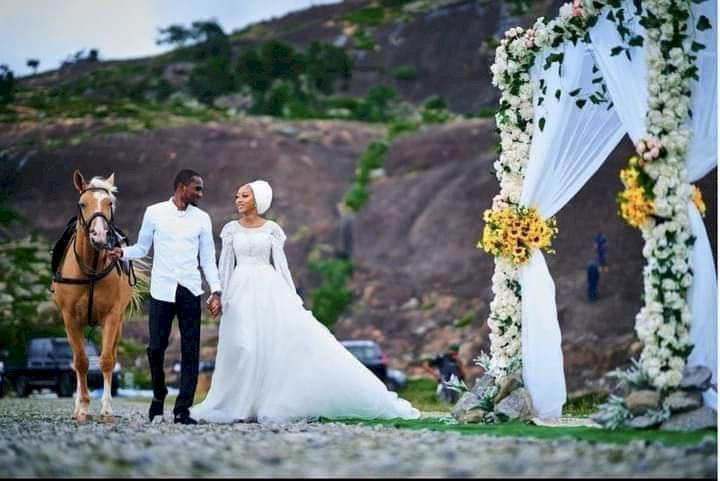 IN PICS: Yusuf Buhari's Wedding Celebration Continues In Abuja