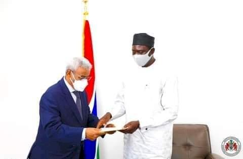 Promoting bilateral relations: Foreign Minister Dr. Tangara receives new Mauritanian Ambassador