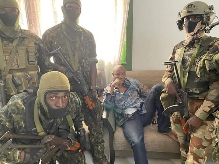 BREAKING:Military coup in Guinea, President Conde arrested The development came after residents heard about two hours of heavy gunfire across the capital Conakry.