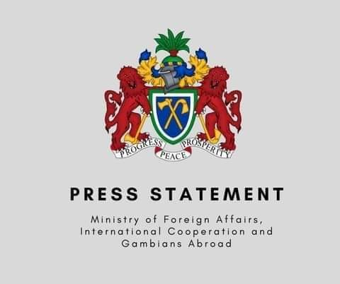 THE GAMBIA GOVERNMENT CONDEMNS COUP D'ETAT IN THE REPUBLIC OF GUINEA