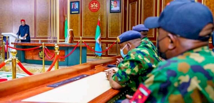 IPOB: Uzodinma Meets Air Force Boss, Vows To 'Flush Out Bad Eggs '