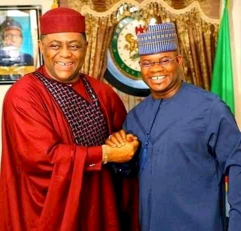 Defection: Yahaya Bello Receive Fani-Kayode