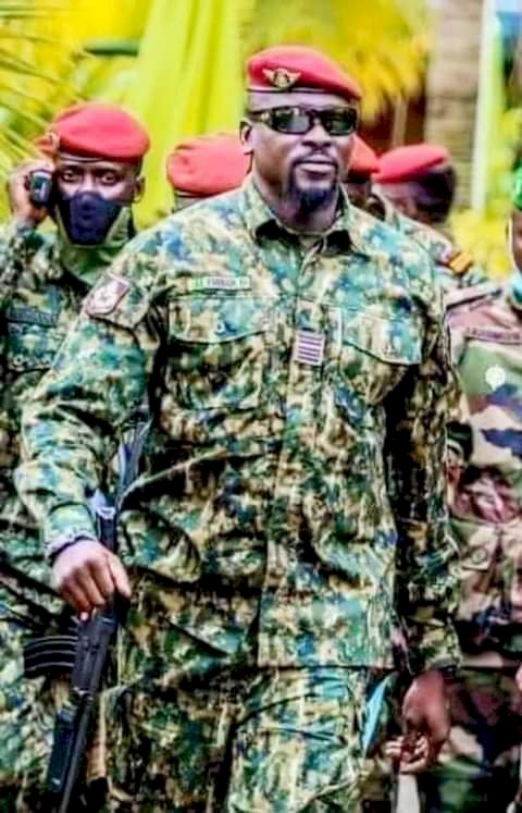 Guinea Colonel Mamady Doumbouya reponds to Union of heads of states.