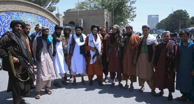 Taliban Hang Bodies Of Four Men For Kidnapping