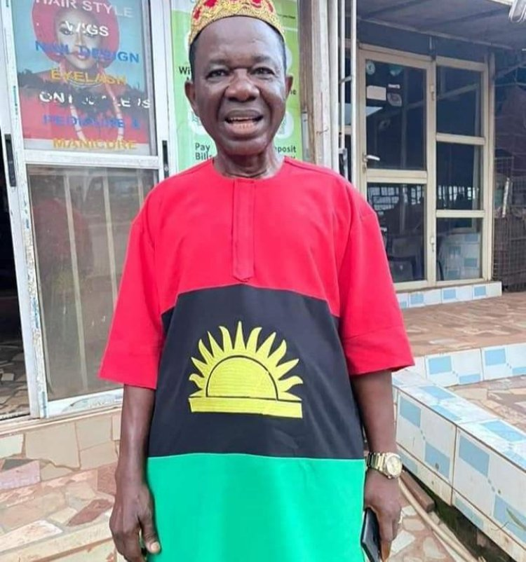 How Biafran Attire Landed Nollywood Actor In Trouble