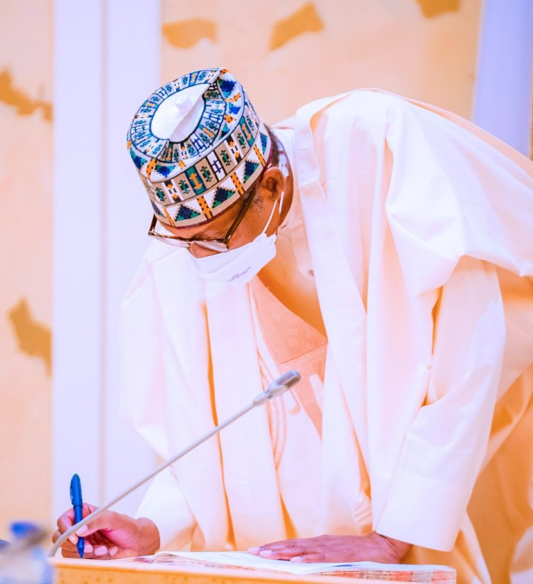 Buhari Signs Agric Research Council Bill, 2 Others Into Law