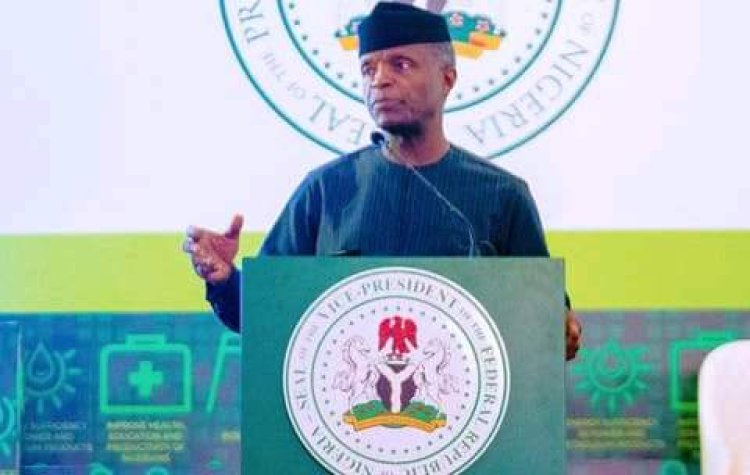 Nigeria Can't Get New Dollars When Exchange Rate Is Artificially Low -Osinbajo