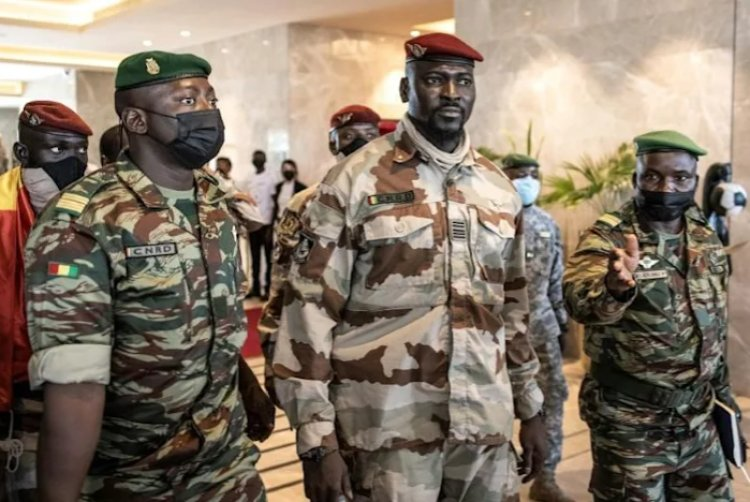 Guinea strongman Doumbouya sacks 44 generals