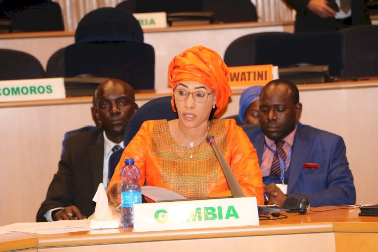 AU selects First Lady Barrow to lead campaign against pollution in Africa
