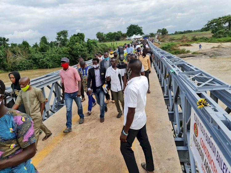 Nigerian Army Construct Bridge and Hospital for Some Communities in Osun State