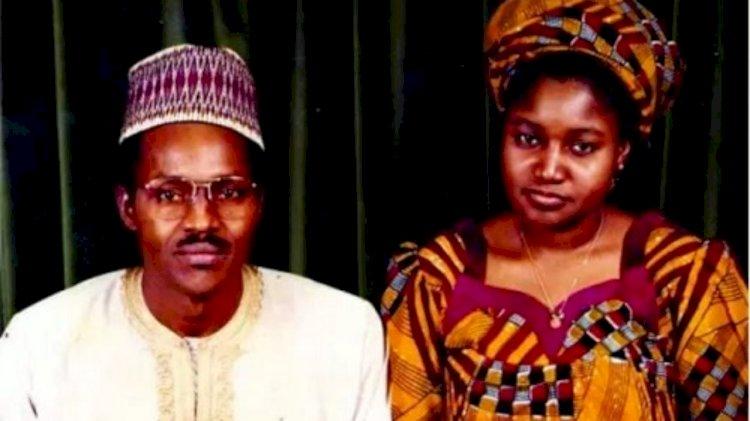 Meet Safinatu Yusuf Mani – Buhari's 1st wife before A'isha from Mani LGA, Katsina