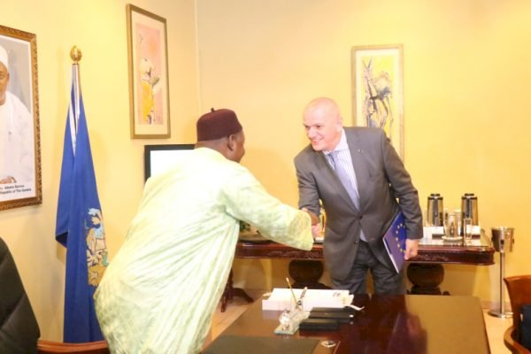 EU Gives Gambia 1.5 Billion Dalasis But Caveat Is For Nation To Get New Constitution