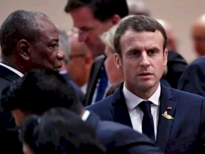 """2020 presidential election:Macron's exit has deeply pissed off Alpha Condé"""""""