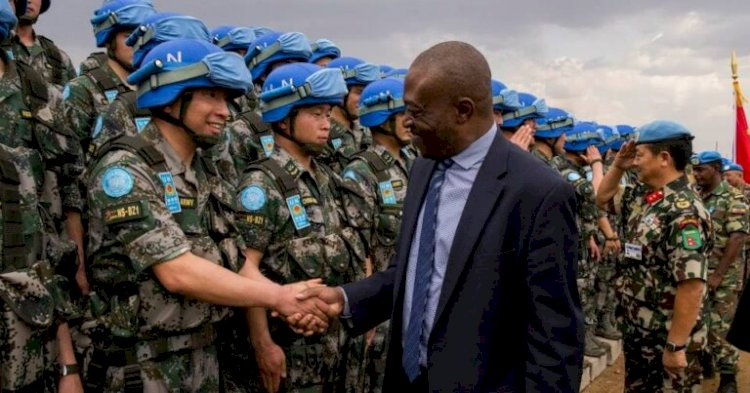 China sends 350 peacekeepers to South Sudan