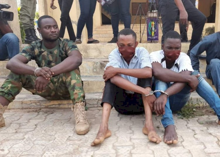 Police nab new police recruit, soldier for robbery in Ondo