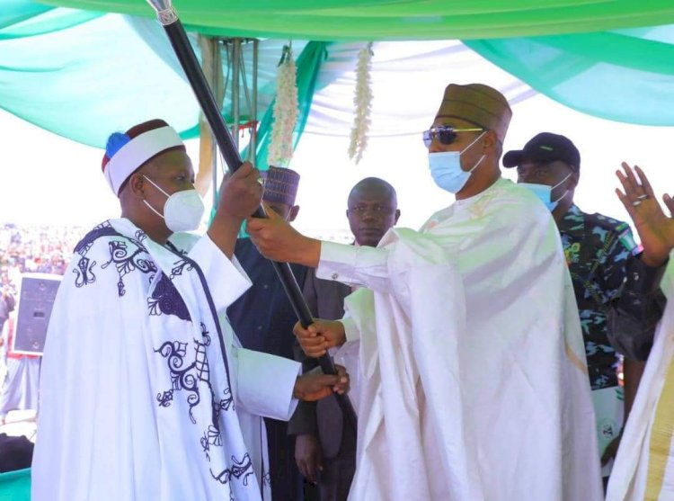 Borno Seeks Traditional Leaders' Support In Counterinsurgency As Biu Emir Gets Staff Of Office