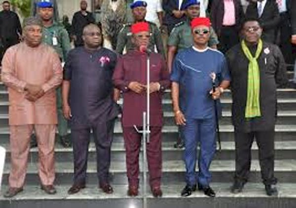 BREAKING: South East Governors Launch Regional Security Outfit