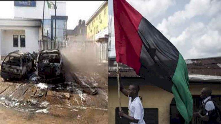 Gunmen attack bank in Anambra, hoist Biafra flag