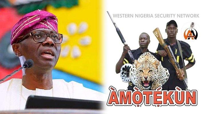 Amotekun useless to Lagosians, won't be adopted: Sanwo-Olu