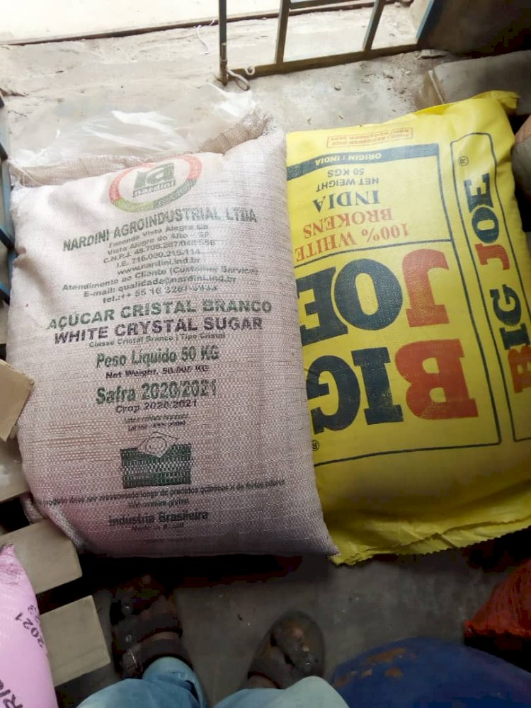 Fulbe Africa and YOHA distributes food to rural poor